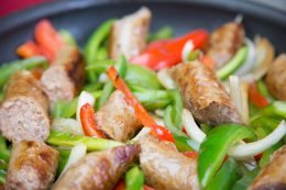 SausagewithPeppers&Onions