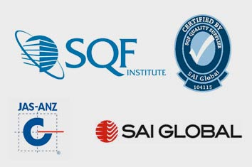 SQF Institute SAI Global Level 2 Certified