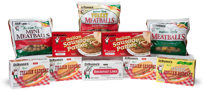 dirusso-sausage products