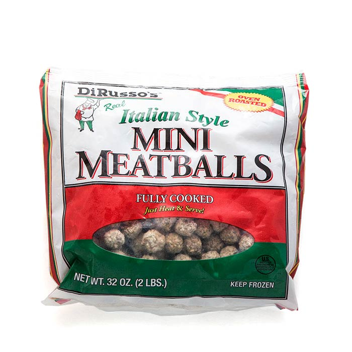 2 lb Mini-Meatballs FULLY COOKED